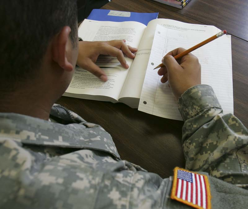 Can I Use My GI Bill Education / Housing Income For A Loan