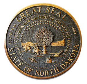 state seal of north dakota