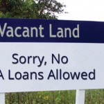 no va loan on vacant land