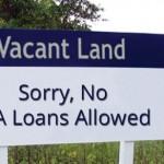 no va loan on vacant land