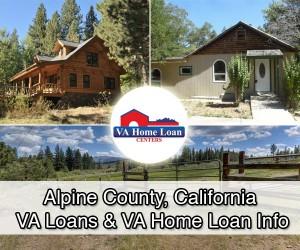 Alpine County, California homes