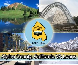 Alpine County flag va loan