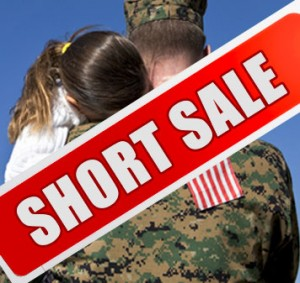 military family go through short sale