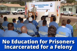 no education for prisoners