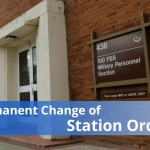 Permanent Change of Station orders