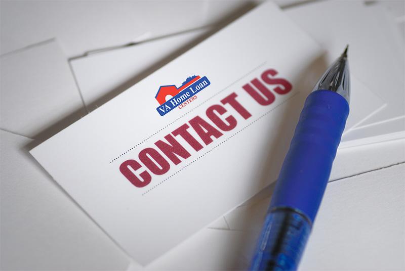 Contact Us VA Home Loan Centers