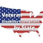 Veteran Disability Exemptions by State