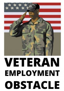 veteran employment obstacle