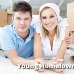 young couple homeowners