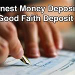 Earnest Money Deposit EMD