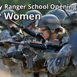 Army ranger school For Women
