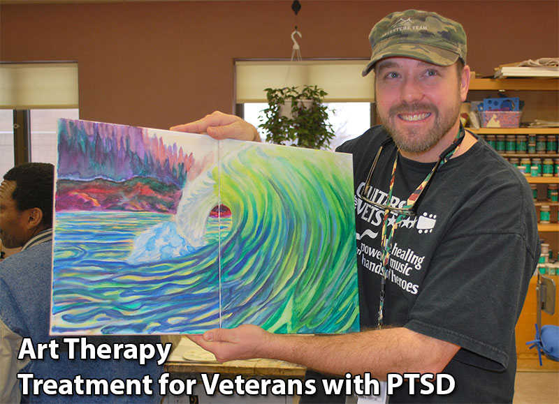 Art Therapy Treatment For Veterans With PTSD