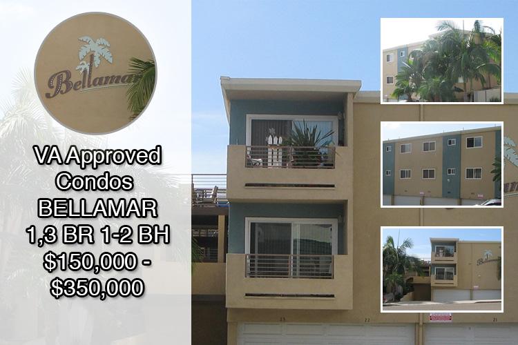 Va Approved Condos For Sale Bellamar In San Diego