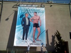 Michael Wolfanger on The Ellen DeGeneres Show banner