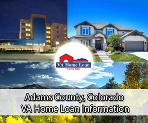 Adams County VA home loan limit