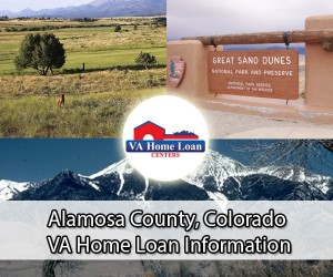 Alamosa County VA home loan limit