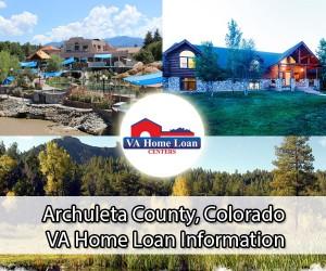 Archuleta County CO VA home loan info