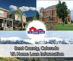 Bent County CO VA home loan info
