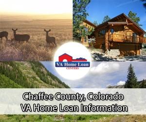 Chaffee County CO VA home loan limits