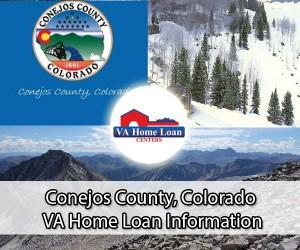 Conejos County VA home loan limit