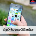 Apply for a COE online