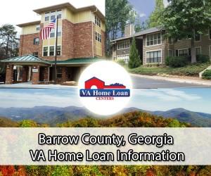 Barrow County VA home loan limit