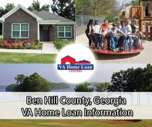 Ben Hill County VA home loan limit