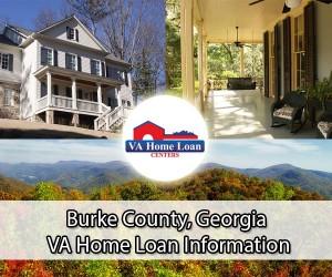 Burke County VA home loan limit