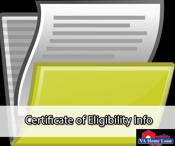 what is a certificate of eligibility? - va hlc