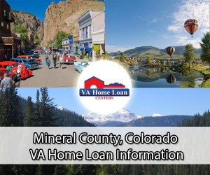 Mineral County, Color. VA Home Loan Info