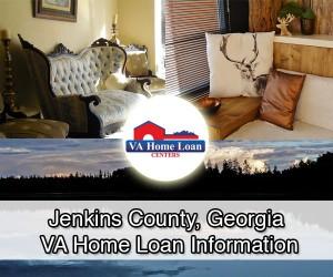 Jenkins County VA Home Loan Info